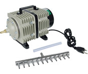 Active Aqua, Commercial Air Pump, 12 Outlets, 112W, 110 L/min