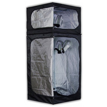 Image 1  sc 1 st  Happy Grow Supplies & Mammoth Grow Tent DUAL90 3ft X 3ft X 6.3ft - Happy Grow Supplies