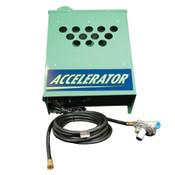 Accelerator, 6 Burner, CO2 Generator, Natural Gas, 18000 BTU