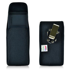 Nexus 6P Vertical Nylon Holster Case Metal Belt Clip
