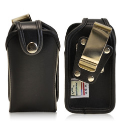 """Turtleback Small Vertical PDA Heavy Duty Leather Pouch - Fits devices 4"""" X 2"""" X 1"""""""