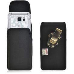 Samsung Galaxy S6 Active Vertical Nylon Holster, Metal Belt Clip