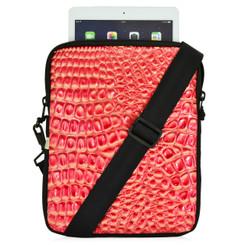 Essential Gear Universal Tablet Croc Golden Red