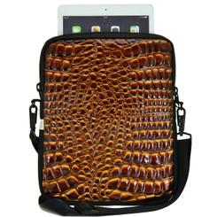 Essential Gear Universal Tablet Croc Golden Brown