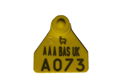 BAS14, Ovina Small Flag Tag