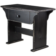 distressed-black-vanity-bench-with-storage (angled-view)