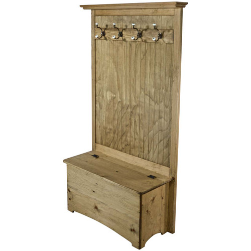 Entryway Hall Tree With Storage Coat Rack Bench With