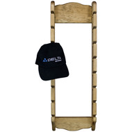 (front-with-hat-view) hat-hanger-for-wall-pine