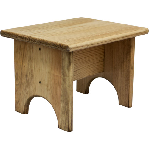 Small Wooden Footstool Unfinished Wood Footstool