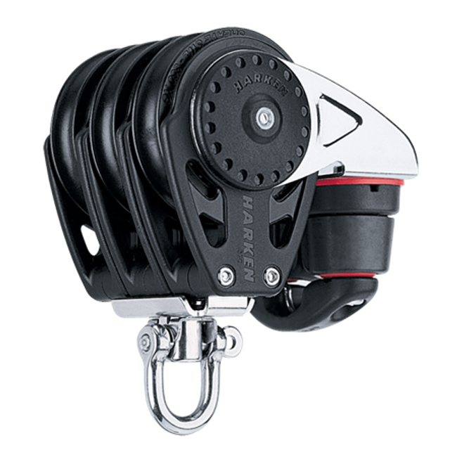 Harken 57mm Triple Carbo Block w/Cam Cleat