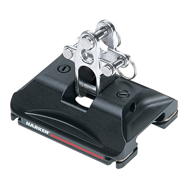 Harken Small Boat CB Car w/Toggle