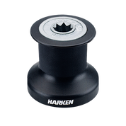 Harken Single Speed Winch with alum/composite  base, drum and top