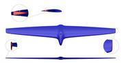 Mach 2 2.3 Front Horizontal Hydrofoil