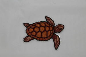 Embroidered Loggerhead Peel And Stick