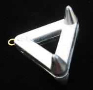 4 oz Lead Claw/Snag Sinker