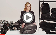 Charger Side Pocket Studded Saddlebags Installation Video