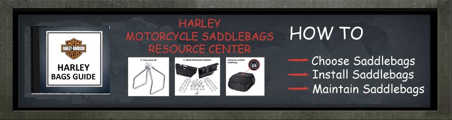 harley softail saddlebags guide