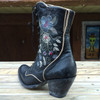 Womens Old Gringo Granny Bonnie Boots Chocolate  L750-2