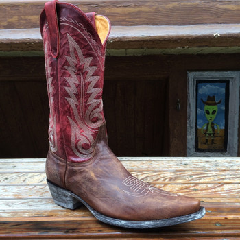 Old Gringo Men's Nevada Red Neck M2089-2