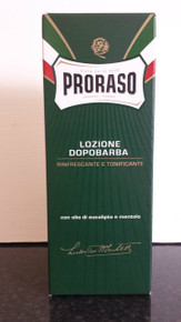 Proraso Aftershave Lotion with Eucalyptus and Menthol XL 400ml BNIB UK stock
