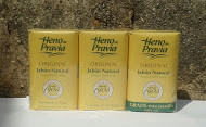 Heno de Pravia Natural Bath Soap 3 bars x 115gr UK stock imported from Spain