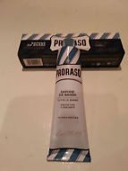 Proraso shaving cream soap blue 150ml tube protective and moisturising