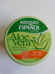 Body Cream with Aloe Vera. Instituto Espanol 400 ml Made in Spain.