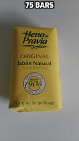 Heno de Pravia Natural Bath Soap 75 bars x 115gr UK stock imported  from Spain