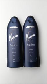 Spanish Shower/Bath Gels x 2 bottles Magno Marine 550ml