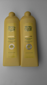 Spanish Shower/Bath Gels x 2 bottles Heno de Pravia 750ml