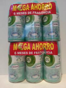 SIX NENUCO Airwick Freshmatic Max Air Freshener 250ml Refill Recambio x 6