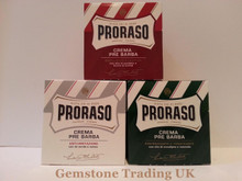 Proraso pre and post shave cream THREE jars ' Pick your own'