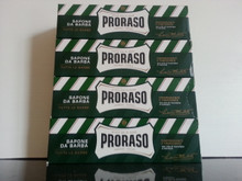 Proraso shaving cream 150ml tubes x 4 GREEN