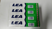 Lea MENTHOL shaving cream soap LARGE 150ml tube x 4