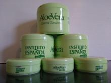 Body Cream with Aloe Vera Instituto Espanol 400ml X 3 PLUS x 3 Travel size.  Made in Spain.