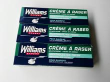 Williams ICE FRESH menthol shaving cream 100 ml X 3