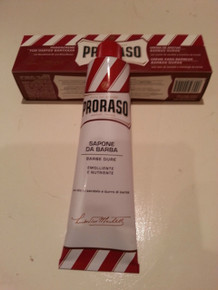Proraso shaving cream soap red 150ml tube Sandalwood