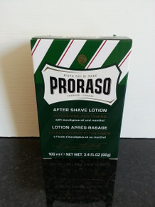 Proraso Aftershave Lotion with Eucalyptus and Menthol 100ml