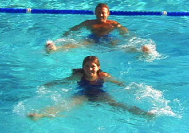 WaterGym Water Aerobics is super fun for families