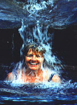 Being under a Waterfall is FUN