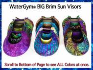 Visors Big Brim Colors WaterGym