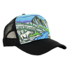 North Cascades Hat, Low Profile Trucker