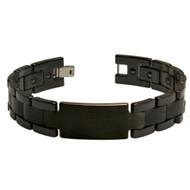 ADITUS Black Ceramic 8.5 Inch Bracelet
