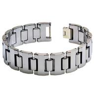 GLADIUS Tungsten Carbide Link Designer Bracelet