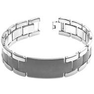 PERSONA ID Tungsten Carbide Link Designer Bracelet
