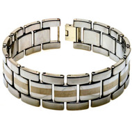 MATADOR Tungsten Carbide Link Designer Bracelet