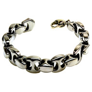 NEXU Tungsten Carbide Link Designer Bracelet