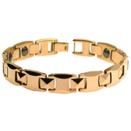IMAGO Tungsten Carbide Rose Gold Plated Bracelet
