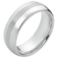 Cobalt Chrome Wedding Band Ring