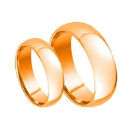 His & Hers ScratchResistant Tungsten Ring Set
